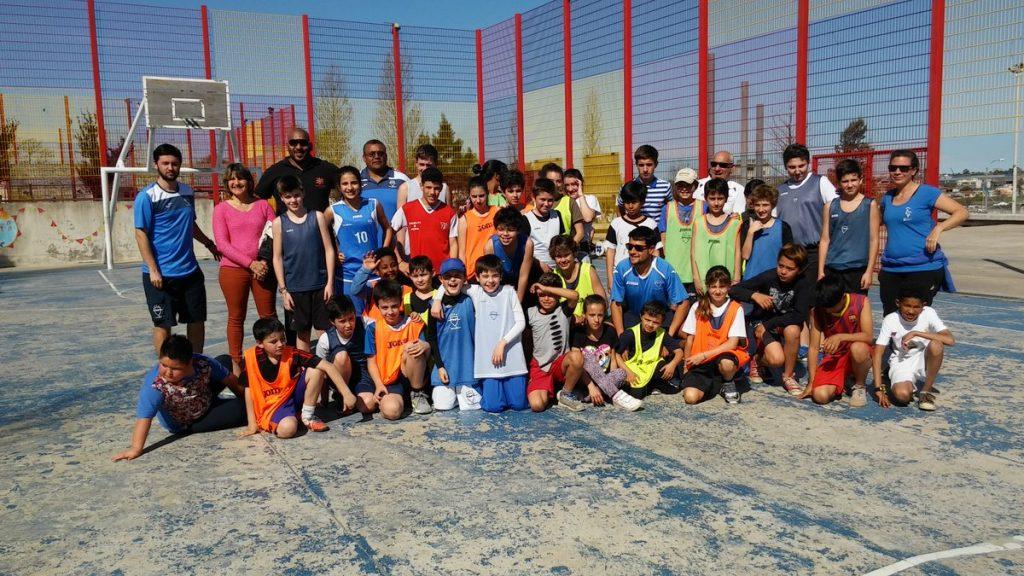 Jornada de integración deportiva entre niños del Club Malvín y Casavalle