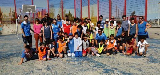 Jornada de integración entre niños del Club Malvín y Casavalle
