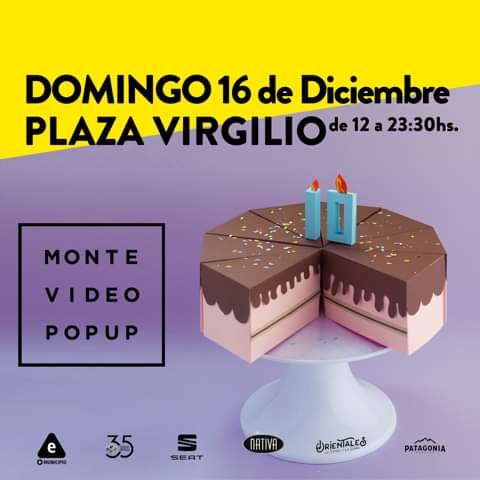 Montevideo Pop Up en Plaza Virgilio este domingo 16!!!