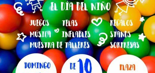 Día del Niño en La Fabini domingo 13 de agosto. No te lo pierdas!