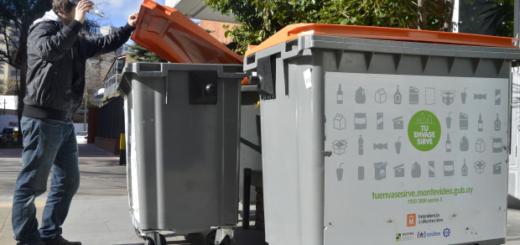 Programas de reciclaje en Uruguay