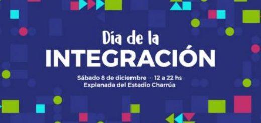 Día de la Integración 2018: sábado 8 de diciembre en el Parque Rivera!!!