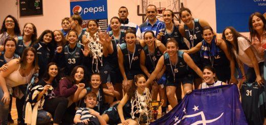 Malvín campeón de la Liga Femenina de Básquetbol!!!
