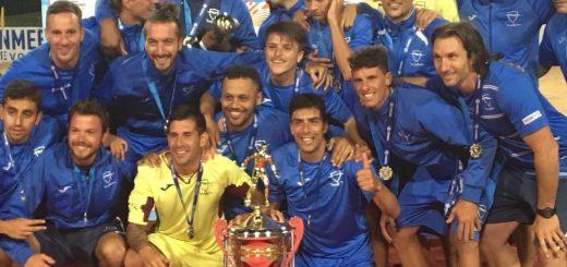 Enormes! Malvín vice campeón de la Copa Libertadores de Fútbol Playa 2017