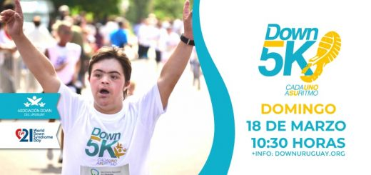 Down 5K Montevideo 2018: sumate!!!