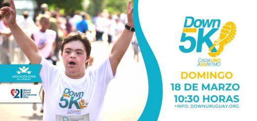 Down 5K Montevideo 2018: sumate!!!