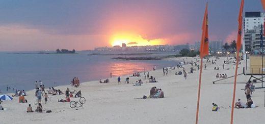 La erosión en las playas del barrio podría hacerlas desaparecer si no se toman medidas