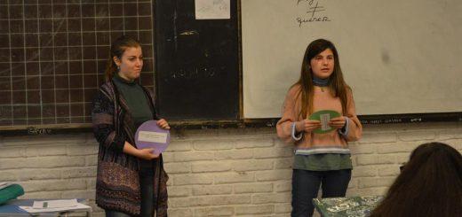 Taller Vocacional en el Liceo 10 por parte del Municipio E