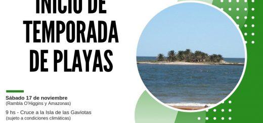 Invitación para cruzar la Isla de las Gaviotas este sábado 17!!!