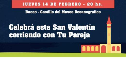 Carrera San Valentín 2019 pasa por la rambla de Malvín!