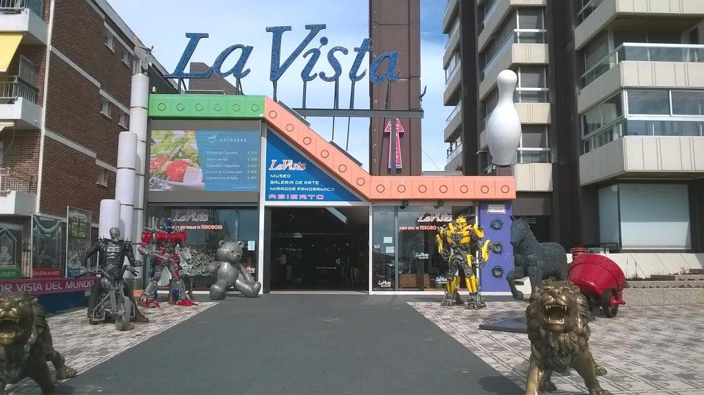 Entrada al Museo La Vista en Punta del Este