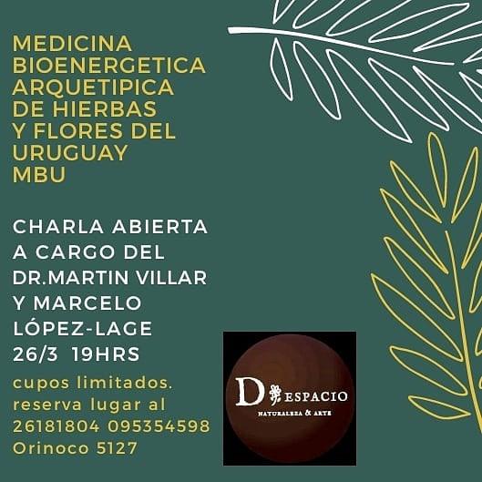 Charla sobre Medicina de Hierbas y Flores del Uruguay