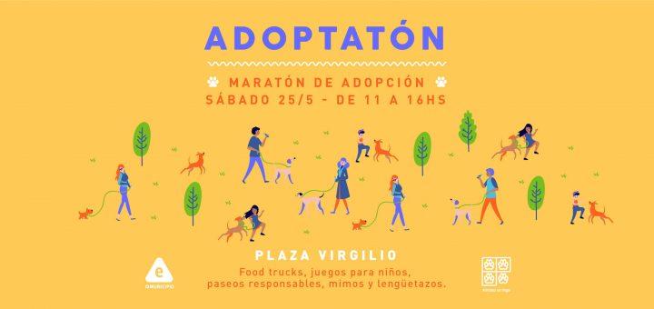Adoptatón: adoptar Animales sin Hogar en la Plaza Virgilio
