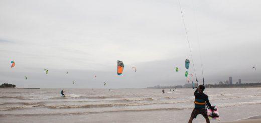 Dónde hacer kitesurf en Uruguay? Malvín!