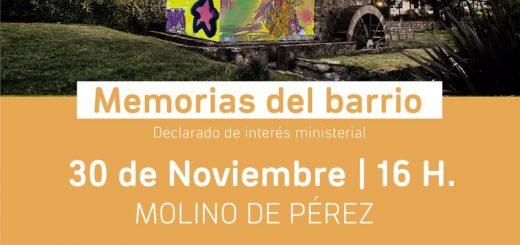 Homenaje a Punta Gorda: sábado 30 de noviembre. Imperdible!