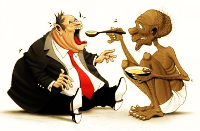 La desigualdad social en el mundo y en Uruguay: hipocresía y concentración de riqueza