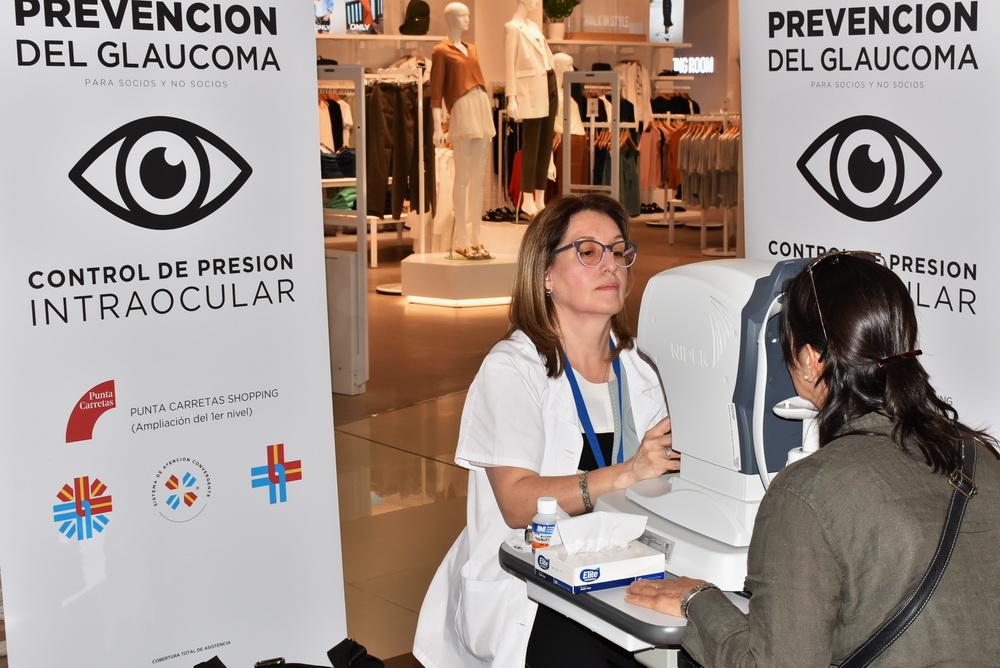 Asociación Española y Española Móvil desarrollan Jornadas de Prevención de Glaucoma en Punta Carretas Shopping