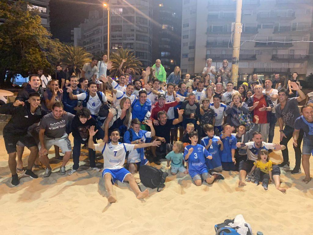 Tricampeones! Malvín logró su tercer título en Fútbol Playa!