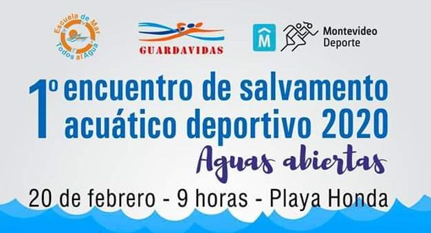 Primer encuentro de Salvamento Acuático Deportivo 2020 en Playa Honda