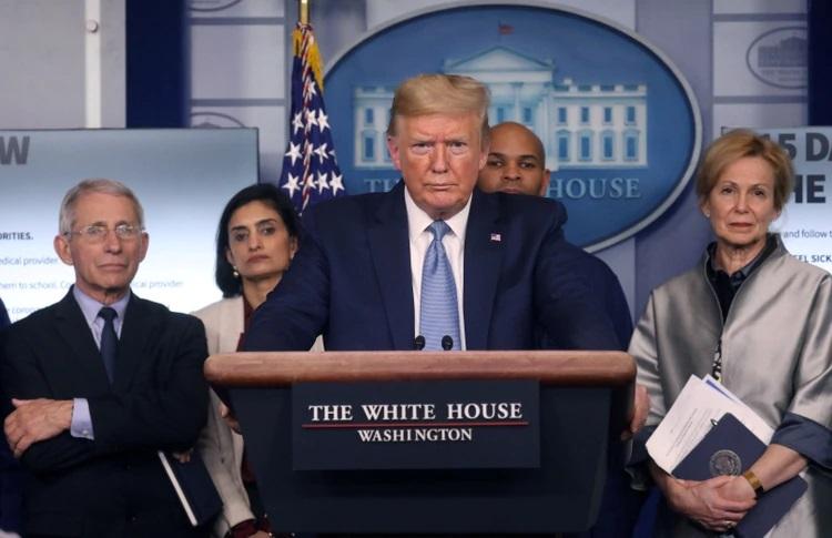 Coronavirus como arma para impedir la reelección de Trump? Armando un puzzle