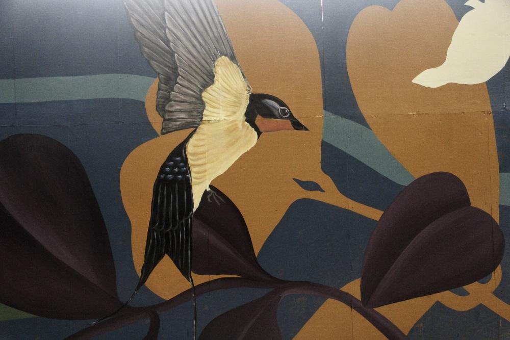 Be Parklife inicia la obra con 300 metros cuadrados de murales sobre el Parque Rivera.