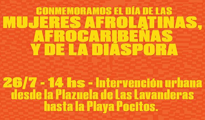 Conmemoración del día de las mujeres afrolatinas, afrocaribeñas y de la diáspora este domingo