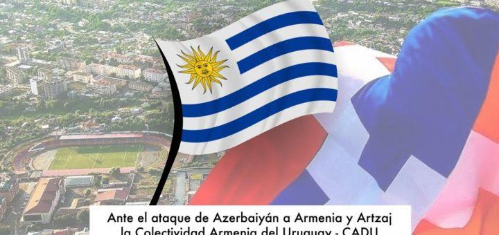 Comunicado de la comunidad armenia del Uruguay ante un nuevo ataque de Azerbaiyán a la República de Artsaj