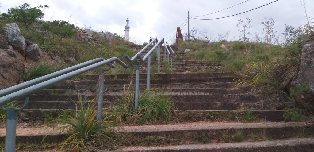 Cerro del Verdún: fuimos de visita
