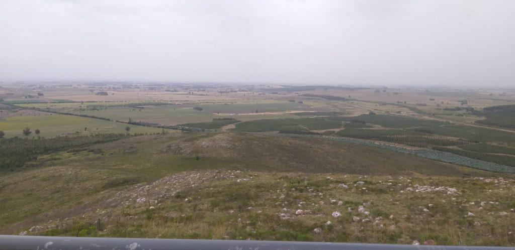 Vista desde el mirador del Cerro del Verdún