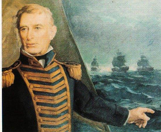 Almirante Brown, amigo y luego socio de Miguel Hines