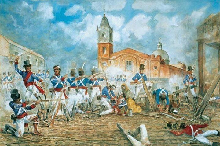Invasiones Inglesas al Río de la Plata. Con las tropas de Gran Bretaña llegaba Miguel Hines