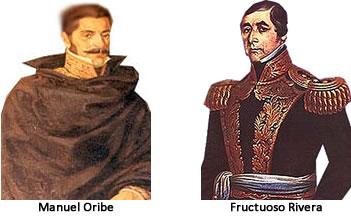 Las luchas entre Oribe y Rivera afectaron a Miguel