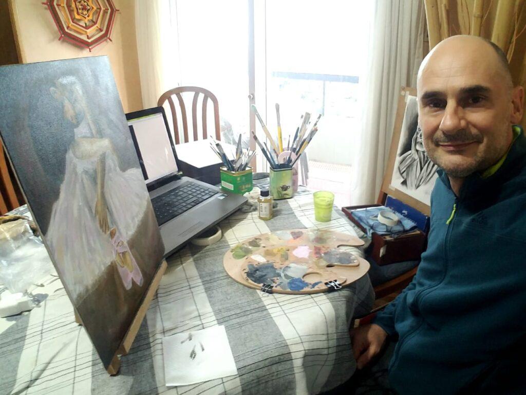 Leonardo Ferrazzi: el artista que brilla en Malvín