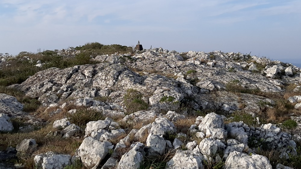 La cima del Cerro Betete