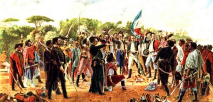 La orden de los Caballeros Orientales luchó en contra de la ocupación de Brasil
