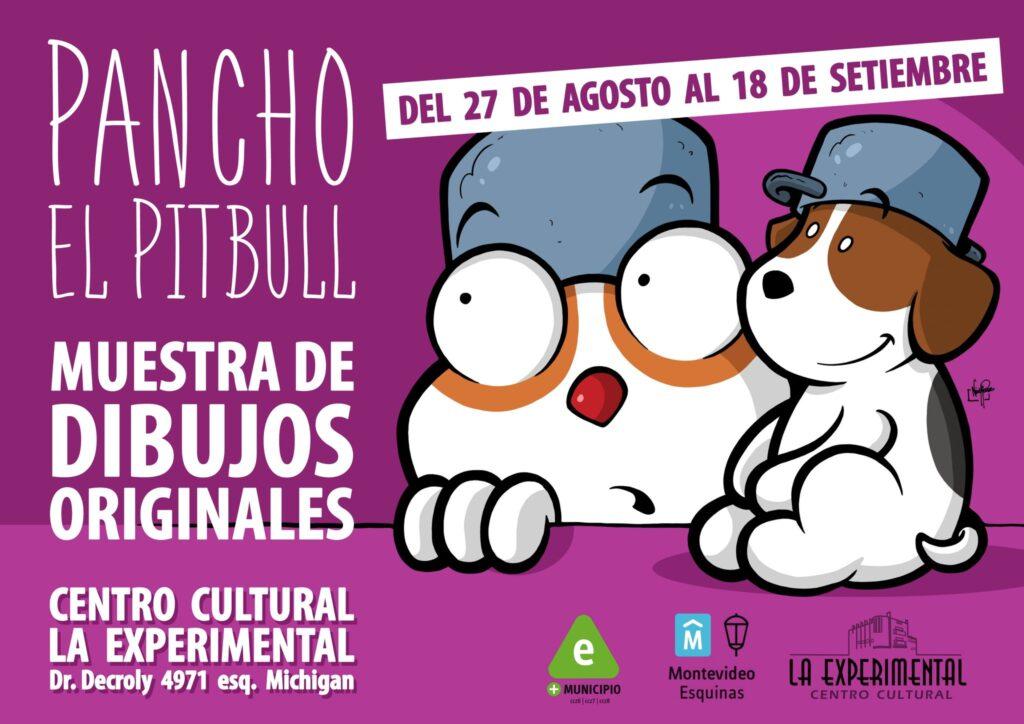 Pancho el Pitbull llega al Centro Cultural La Experimental!