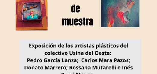 Exposición de los artistas plásticos del Colectivo Usina del Oeste en La Experimental