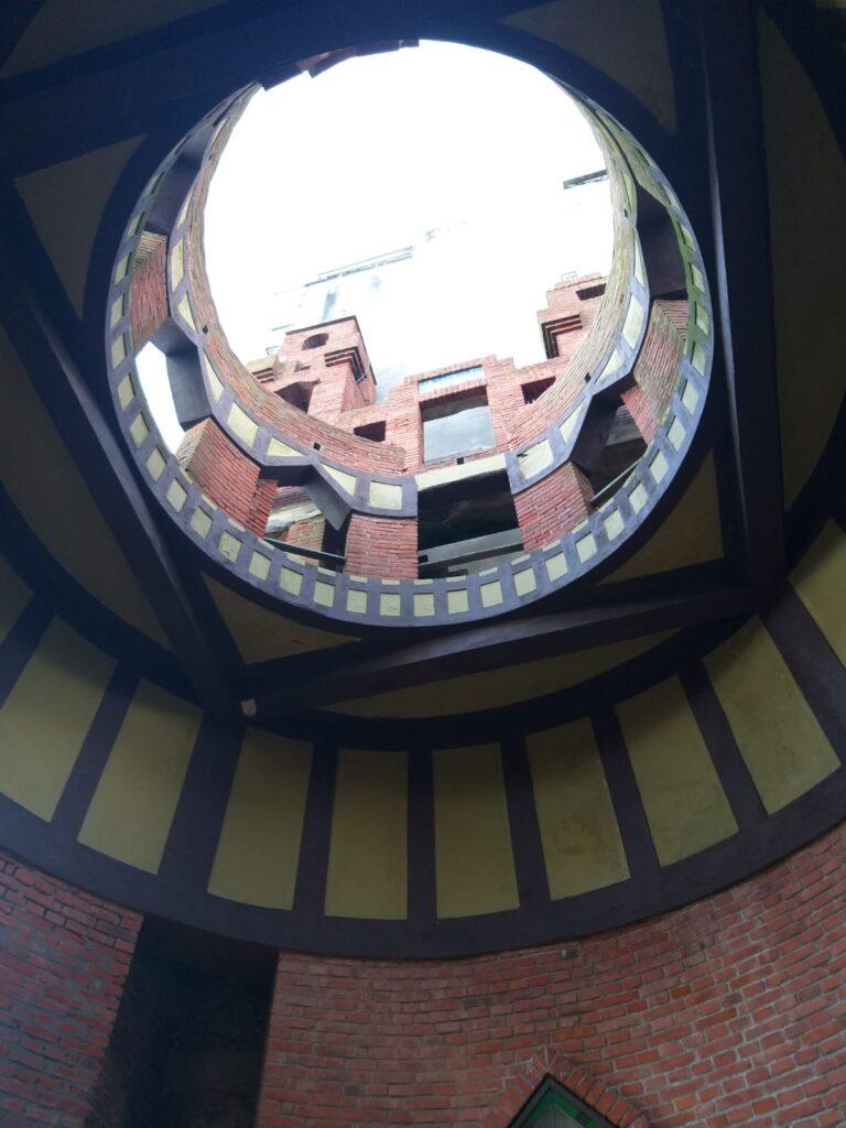 El Templo del Sol en el Castillo Pittamiglio en Montevideo
