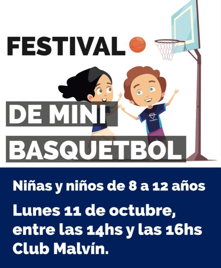 Día internacional del mini básquetbol en el Club Malvín